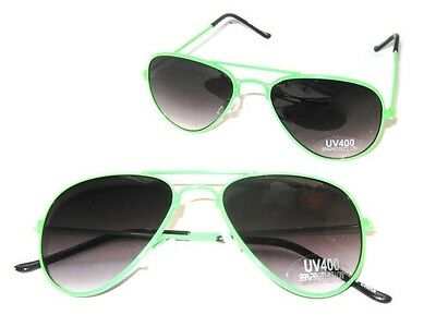 Baby Toddler Boys Girls Green Aviator Costume Sunglasses Ages 0 - 3 Years