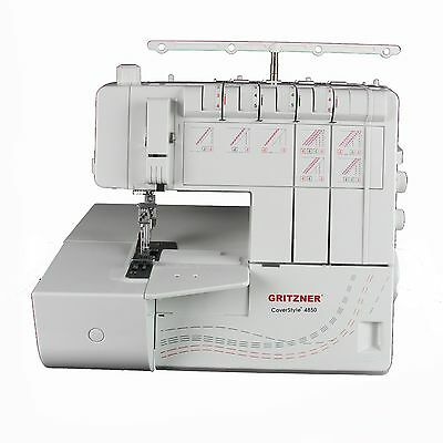 Gritzner CoverStyle 4850 Coverstich Coverlock, Coverstichmaschine inkl. Buch