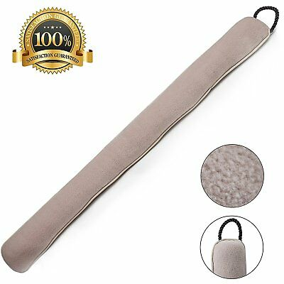 Draft Stop Cloth Seal 3-Feet Long by Home Intuition, Beige (2)
