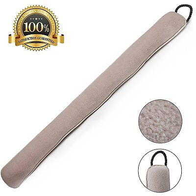 Home Intuition 3-Feet Draft Stop Cloth Seal, Beige (2)