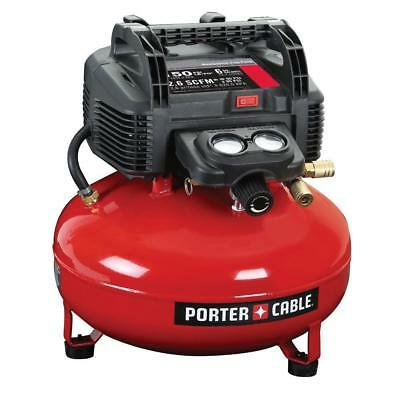 Porter-Cable 150 PSI 6-Gallon Electric Pancake Style Air Tool Compresor