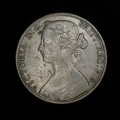 1861 Great Britain Victoria D.G. 1d