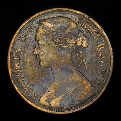 Great Britain Penny 1863 Fine