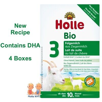 Holle Goat Milk Stage 3 Organic Formula 4 Boxes 400g Free Shipping