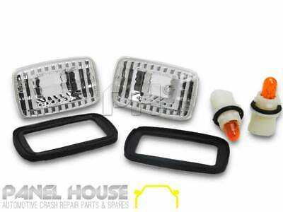 Crystal Guard Indicator Lights Clear for  Toyota LANDCRUISER 76 78 79 Series 200