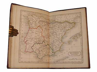 1842 An Atlas of Ancient Geography 22 Hand Colored Maps SAMUEL BUTLER