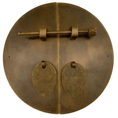 Chinese Brass Hardware Fat Cabinet Face Plate 7-7/8''