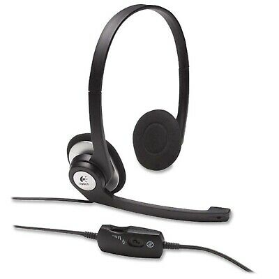 Logitech H390 Comfort USB Headset with Noise Cancelling Microphone for PC Mac