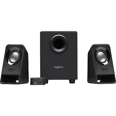 Logitech Z213 2.1 Multimedia Speaker System Subwoofer Laptop Desktop Computer PC
