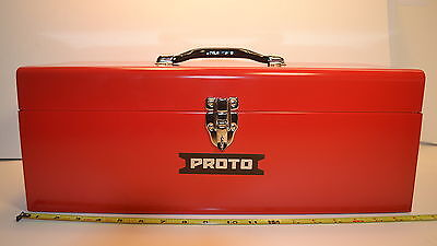 "NEW STANLEY PROTO 19"" Tool Box Single Latch J9977-NA WR.12.C.F.2"