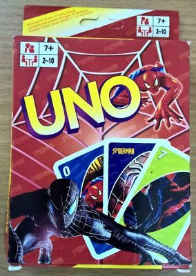 Spiderman UNO Game Card Collection Cards Spider-man Aus Stock