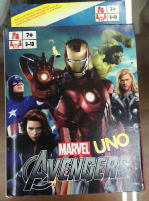 The Avengers Captain America Ironman Hulk UNO Cards Game Card Collection Cards