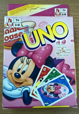 Mickey mouse and friends: Minnie Mouse UNO Game Card Collection Cards Aus Stock