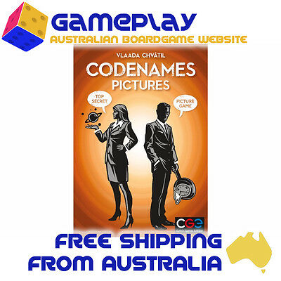 Codenames Pictures - Czech Games Edition - Card Game