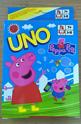 Peppa Pig and Family UNO Game Card Collection Cards Aus Stock