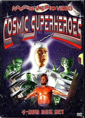 Cosmic Superheroes. Jam Packed 8 Movie Set. New In Shrink. RARE!