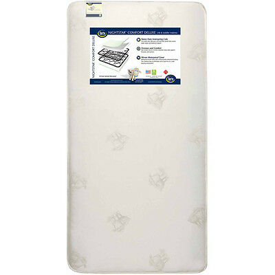 Serta Nightstar Comfort Deluxe Crib and Toddler Mattress