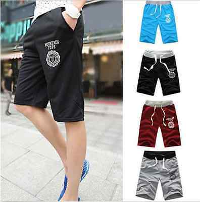 Hot Men's Casual Summer Cotton Shorts Pants Gym Fitness Sports Jogging Trousers