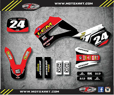 LEM 50 2003 - 2010 PYRO STYLE full graphics kit / decals / stickers