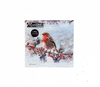Christmas Robin Napkins x 20 - Perfect for Christmas Parties and tables