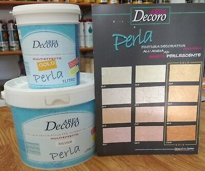 PERLA  Pittura decorativa per interni all'acqua de.cor.interni