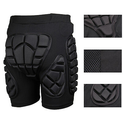 Skiing Motocross Motorcycle Protection Padded Pants Sport Hip Bum Armour Shorts
