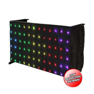 LEDJ Tri LED Matrix Table Starcloth Pattern Curtain Cloth STAR18