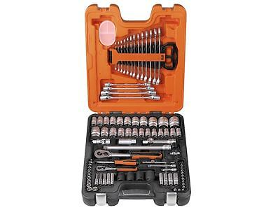 XMS16 Bahco Assorted 1/4 & 1/2in Square Drive Metric Socket Spanner Set 94 Piece