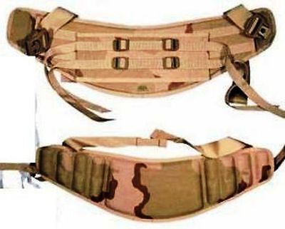 (2) New MOLLE II Molded Waist Belts Rucksack Backpack Desert