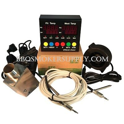 Q Master UDS Temperature Controller Ugly Drum Smoker automatic electronic temp