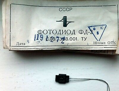 10 pcs. rare FD-2  Photodiode  Photosensitive USSR