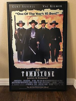 Large Size Framed Movie Theater  Poster Tombstone Professionally Framed