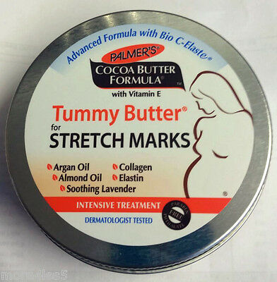 Palmers Tummy Butter For Stretch Marks Cocoa Butter Formula With Vitamin E 125g