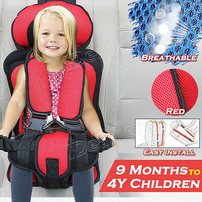 Car Auto Baby Child Safety Seat Toddler Infant Convertible Booster Chair Red