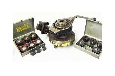 """JACOBS 1/16"""" – 1-3/8"""" Lever Type Lathe Collet Chuck D1-8 spindle mounting"""