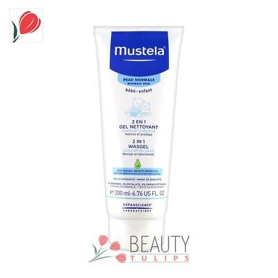 Mustela Bebe Wash Gel 2-in-1 Body and Hair 200ml