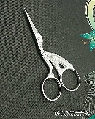 Macs Professional Eye Brow Scissors/Silk Scissors Made Of Stainless Steel-5231 …