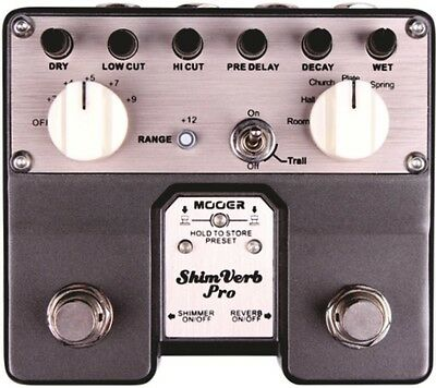 Mooer Shimverb Pro Twin Dual Reverb Gtr Effects pedal TVR1 6943206791010