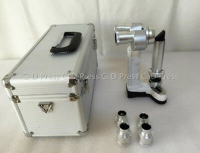 2016 New Portable Hand Held Slit Lamp Microscope 5000 with Case CE Approval