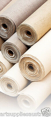 "10 oz Canvas Roll Unprimed (72"") 1.82 x10m Premium Pure cotton Duck , sale price"