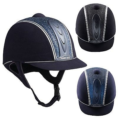 Harry Hall Legend Cosmos Junior Pas015 Central Glitter Safety Horse Riding Hat