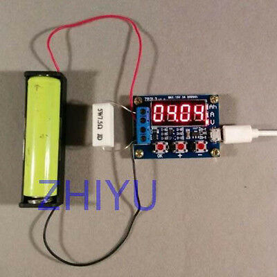 1.5v-12v Battery Capacity Meter load discharge Tester 18650 lithium lead-ADSD