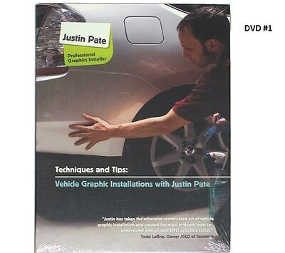 Justin Pate Dvd #1 Vehicle Car Graphic Vinyl Wrap Installation  Wrapping Guide