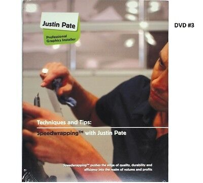 Justin Pate Dvd #3 Vehicle Car Graphic Vinyl Wrap Installation Wrapping Guide