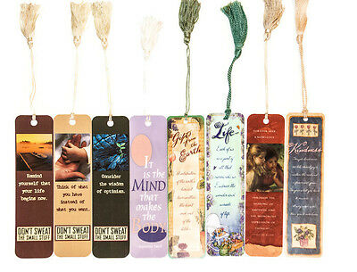 Bookmarks - Pack of 8 - Words of Wisdom