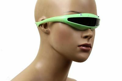 New Kid's Smiling Crazy Eyes Wale Light Flourine Green Sunglasses Snl-132Asst Sd