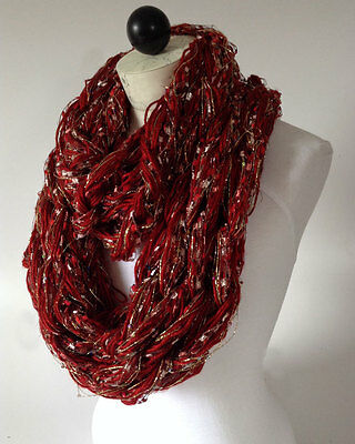 Arm Knit Infinity Scarves