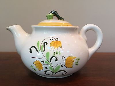 Stangl Pottery YELLOW TULIP 4 Cup Teapot & Lid