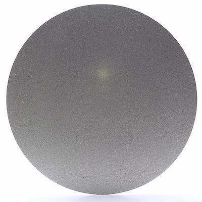 """10"""" inch Grit 240 Nonporous Electroplated Diamond Coated Flat Lap Disk Grinding"""