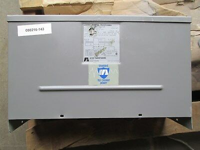 Acme Transformer 9 KVA 3 Phase 480-208Y/120 vac Model T-2-53310-1S